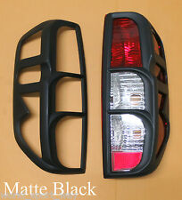 Surround Cover Rear Tail Light Matt Black For Nissan Frontier Navara D40 05-14