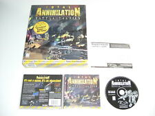 Total Annihilation - BATTLE TACTICS Add-On Expansion Pack Pc Cd Rom US BIG BOX