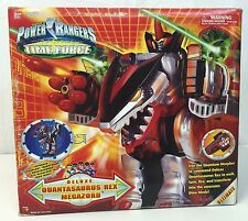 Bandai ~Power Rangers ~Time Force ~Quantasaurus Rex Megazord ~BOX & INSERTS ONLY