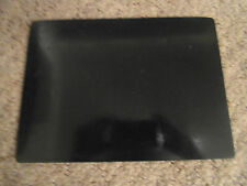 SMALL  BLACK THICK RUBBER   EMBOSSING PAD - Used - Measures 22cm x 16cm