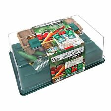 Mr Fothergills VEGETABLE GARDEN STARTER KIT Seed Greenhouse, Ideal Condition