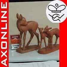 2x Goebel Figuren alt Terracotta Bambie FM1 Krone