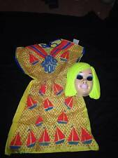VINTAGE 1975 COLLEGEVILLE HALLOWEEN COSTUME & MASK - BARBIE DOLL  SIZE: 8-10