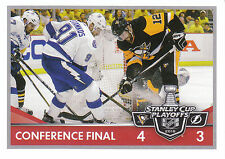 16/17 PANINI NHL STICKER STANLEY CUP PLAYOFFS #478 PENGUINS LIGHTNING *24668