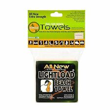 """All New Extra Strength Beach Towel 1 piece (36x60"""") Lightload Towels"""