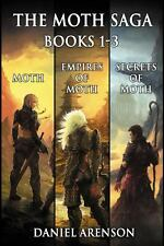The Moth Saga : Books 1-3 by Daniel Arenson (2014, Paperback)