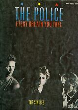 STING The Police The Singles Songbook sheet music Every Breath You Take Roxanne