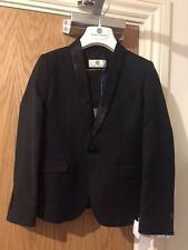 Young Versace Two Piece Black Tuxedo Suit 6 Years Rrp £475