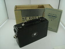 Vintage CINE KODAK BB Junior 16mm Movie Camera - with Box + Manual