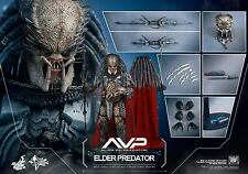 HOT TOYS 1/6 AVP ALIEN VS PREDATOR MMS325 ELDER PREDATOR MASTERPIECE FIGURE S