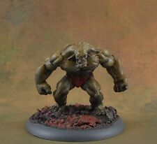 Painted Clay Golem from Reaper Miniatures Bones D&D monster