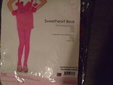 NEW IN PKG. ENCHANTED COSTUMES LEG AVENUE GIRLS LARGE 3 PIECE SWEETHEART BEAR
