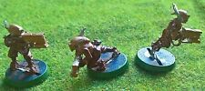 Warhammer 40K - 3x Tau Fire Warriors REF 3 - METAL Painted - Exc Con - Free Post