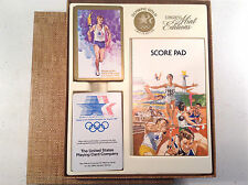 OLYMPIC GOLD LIMITED EDITION DOUBLE DECK PLAYING CARD SET - 1984 LOS ANGELES
