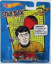 HOT WHEELS NOSTALGIA POP CULTURE STAR TREK SULU - MIDNIGHT OTTO Red Line Tires