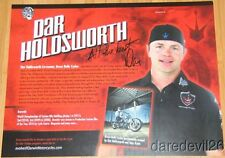 2013 Dar Holdsworth signed Brass Balls Cycles Ingersoll Rand SEMA Show info card