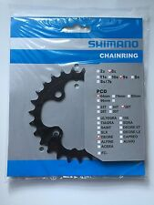 Shimano 26T Mega 9 Speed Chainring Deore FC-M590 M591 Black Y1LD26000 64mm BCD