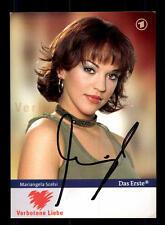 Mariangela Scelsi Verbotene Liebe Autogrammkarte Original Signiert # BC 85736