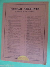 Guitar Sheet Music Matteo Carcassi Op 26 Six Caprices