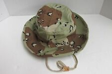 New US Military 6 Color Chocolate Chip Camo DESERT STORM Boonie Sun Hat Size 7
