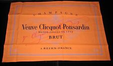 VEUVE CLICQUOT SOMMELIERS BAR  CLOTH  NAPKIN NEW IN PKT