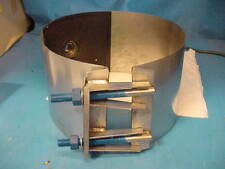 """Smith-Blair 1"""" x 12"""" Water Tap Saddle Stainless Steel 372-00132009-000"""