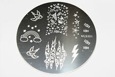 Stamping Device Nail Art Image Plate MLS301