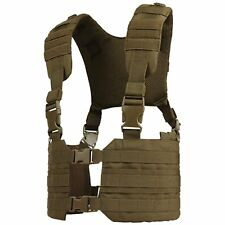 Condor Coyote Brown RONIN MOLLE Chest Rig Quick Release Padded H-Harness Vest