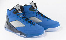 MENS NIKE AIR JORDAN FLIGHT REMIX TRAINERS SNEAKERS BLUE UK 8.5 - RRP £110