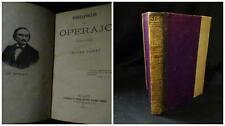 Portafoglio di un operajo ordinato e pubblicato da Cesare Cantù - Milano 1871