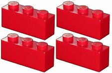 Missing Lego Brick 3622 Red x 4 Brick 1 x 3