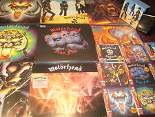 MOTORHEAD ACE 9  REPLICA'S JAPAN OBI CD BOX + 8 TITLES TEN 180 GRAM VINYL LPS