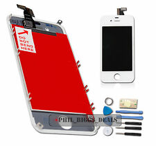 LCD Digitizer Touch Screen Assembly Replacement For Apple iPhone 4 4G White -UK