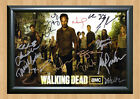 THE WALKING DEAD Season 3 Cast SIGNED x13 Autographed PHOTO Print POSTER DVD