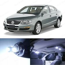 11 x Xenon White LED Interior Light Package For 2006-2010 Volkswage VW Passat B6