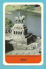 Kaiser Wilhelm I Statue Germany Cool Collector Card  Europe Have a Look!
