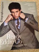 Harry Potter EDDIE REDMAYNE PHOTO INTERVIEW UK TELEGRAPH MAGAZINE FEBRUARY 2016