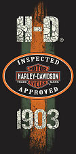 "Harley Davidson EST 1903 Beach Pool Towel FULLY LICENSED 30""x60"""