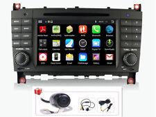 Android 4.4 Radio DVD GPS Satnav Headunit For Mercedes Benz C-W203 CLK-W209 CLC