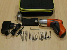 Lock Pick Cordless Electric Tools Locksmith Set Door Lock Opener + Guides