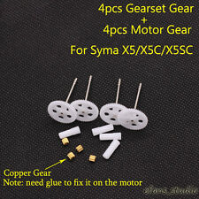 Syma X5 X5C X5SC RC Quadcopter Spare parts motor gear and main gears wheel set