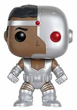 Funko Pop DC Comics Super Heroes - Cyborg Vinyl Action Figure Collectible Toy 95
