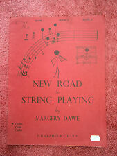 NEW  ROAD  TO  STRING  PLAYING   BY  MARGERY DAWE  BOOK  3    SHEET MUSIC