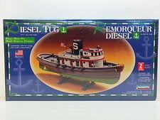 "Lot 13072 | Lindberg 77221 ""Diesel masseuses"" Boat HO Boot 1:87 ungebaut nouveau en OVP"