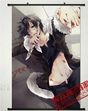 Home Decor Japanese Poster Wall Scroll durarara!! DuRaRaRa Orihara Izaya black