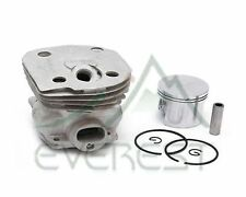 CYLINDER HEAD PISTON KIT FITS HUSQVARNA 350 (LOW) 44mm PISTON PIN RINGS CIRCLIP
