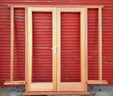 Wooden Hardwood French Doors with sidelights! Bespoke! Made to measure!