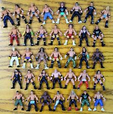 "WWE JAKKS Micro Aggression Mini Wrestling FIGURE Lot of 36 WWF NWO 2"" inches"
