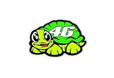 2 Valentino Rossi Stickers 46, TURTLE 5cm Vinyl Decal