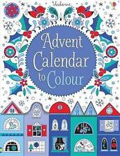Advent Calendar to Colour BRAND NEW by Usborne Publishing Ltd (Hardback, 2015)